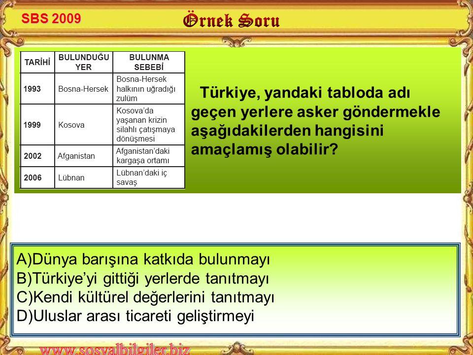Türk ordusu dünya barışına katkıda bulunmak için BM'ye bağlı olarak bazı yerlerde görev yapmaktadır Rumların katliamlarını önlemek ve barışı sağlamak için Türkiye Kıbrıs'a barış harekatı düzenlemiştir Enosis, Kıbrıs adasında ortak yönetimi isteyen Rumlar tarafından kurulmuştur Türk Silahlı Kuvvetlerinin tek amacı yurda karşı dıştan gelen tehlikeleri önlemektir Türk ordusu kendini yenileyerek caydırıcı kuvvet olmalıdır YanlışDoğruÖRNEK CÜMLELER