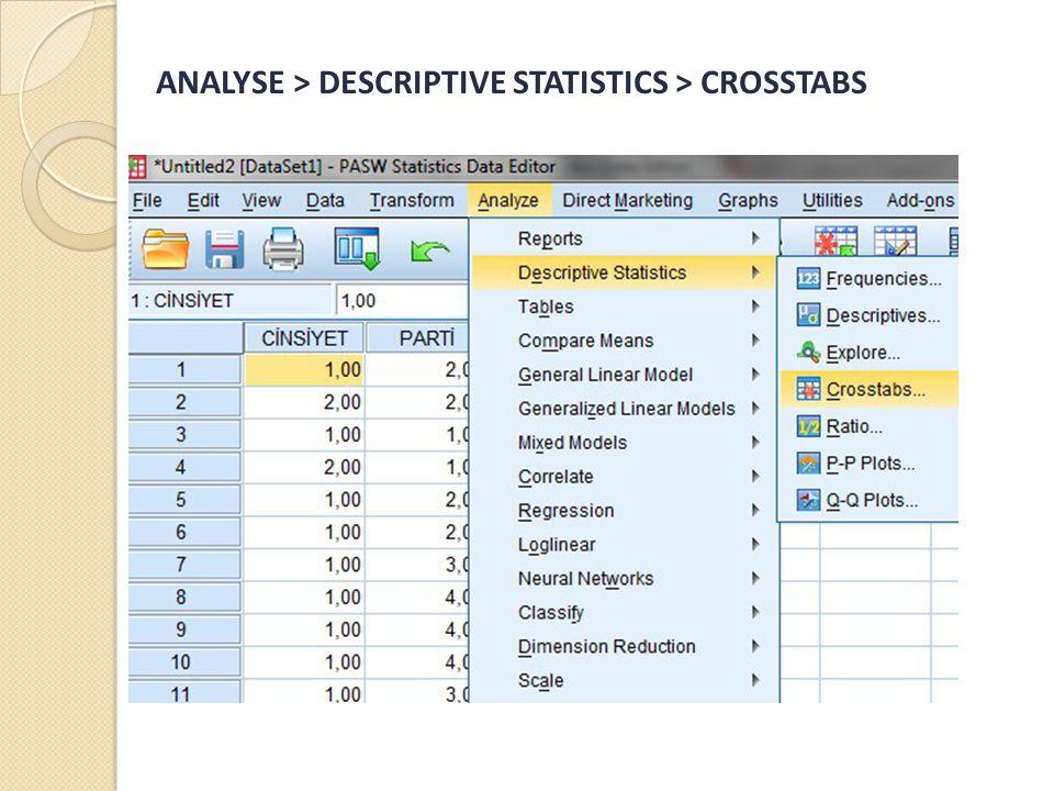 HEDEFLENM İ Ş SEÇ İ M  Zaman zaman belirli veri setindeki yer alan tüm verileri araştırmanızda kullanmak istemeyebilirsiniz.