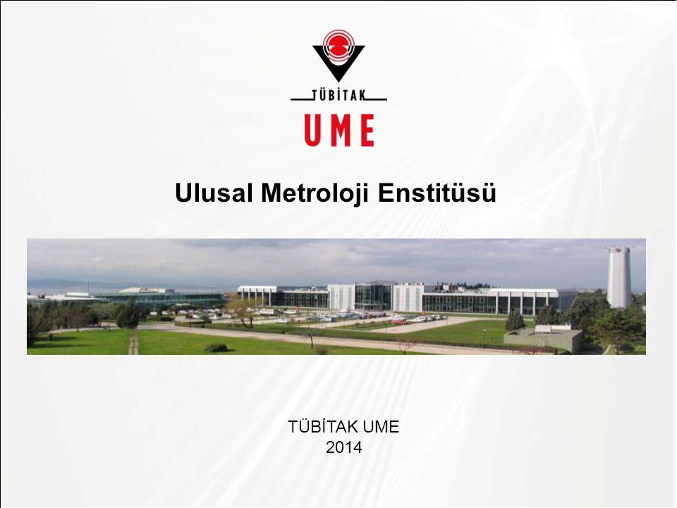 Asıl başlık stili için tıklatın Ulusal Metroloji Enstitüsü TÜBİTAK UME 2014