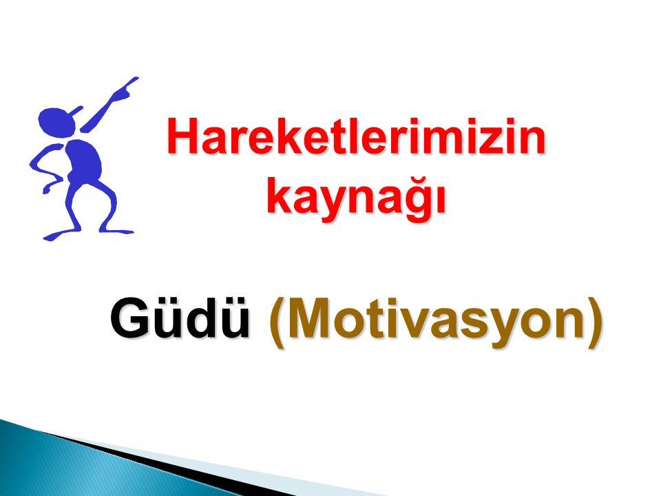 Motivasyonun önündeki bir diğer iç etken de umutsuzluğa kapılarak, pes etmedir.