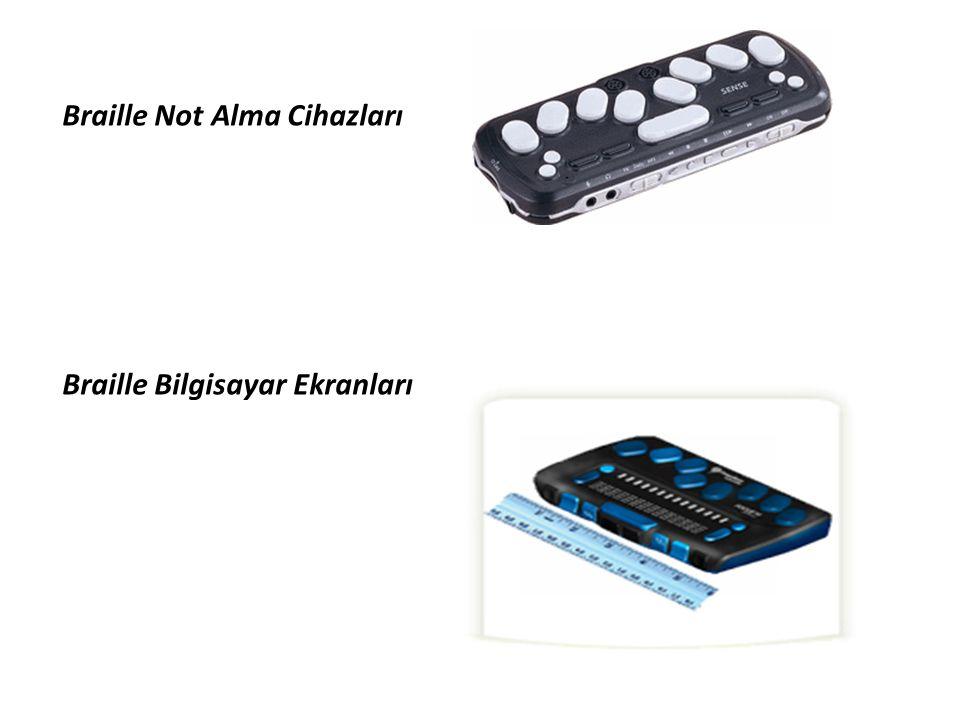 Braille Not Alma Cihazları Braille Bilgisayar Ekranları