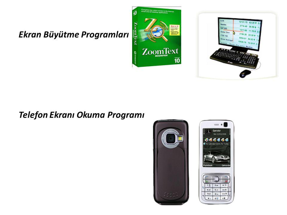 Ekran Büyütme Programları Telefon Ekranı Okuma Programı