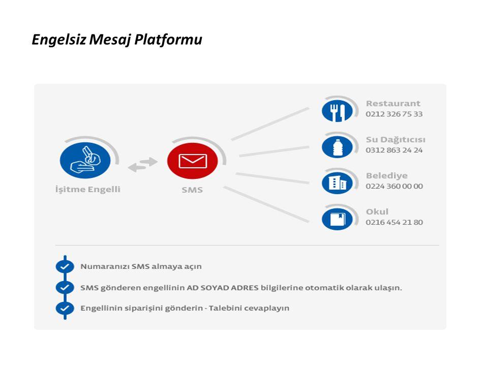 Engelsiz Mesaj Platformu