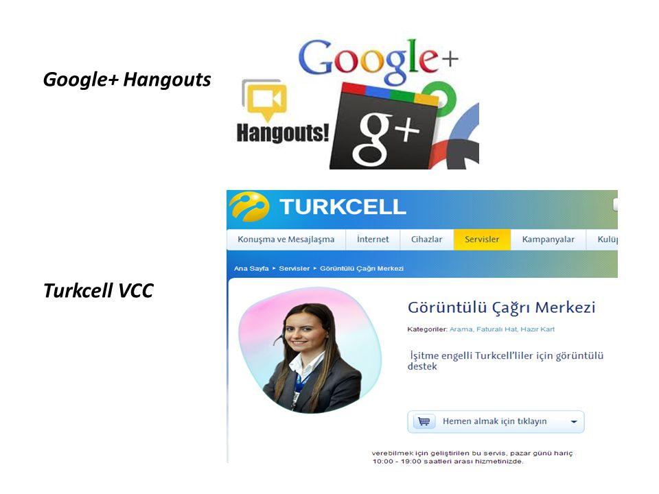 Google+ Hangouts Turkcell VCC