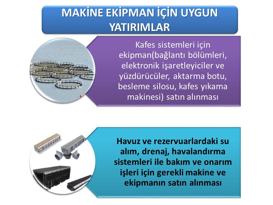 101-1 Süt Üreten Tarımsal İşletmeler MAKİNE EKİPMAN İÇİN UYGUN YATIRIMLAR Kafes sistemleri için ekipman(bağlantı bölümleri, elektronik işaretleyiciler
