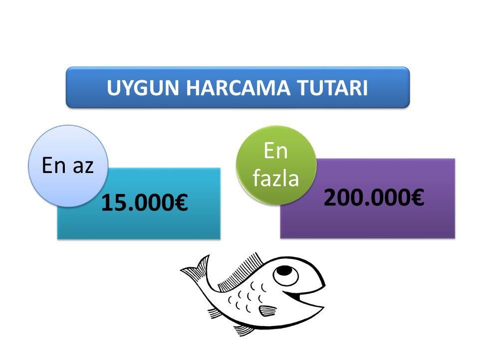 101-1 Süt Üreten Tarımsal İşletmeler 15.000€ En az 200.000€ En fazla UYGUN HARCAMA TUTARI