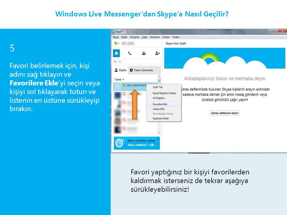 6 Mesaj yazmak için mesaj yazacağınız kişiyi tıklayın, hemen sağ tarafta bir anlık mesajlaşma penceresi görünür.