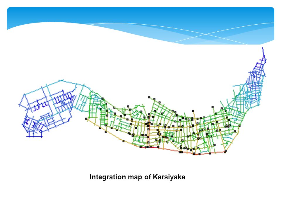Integration map of Karsiyaka
