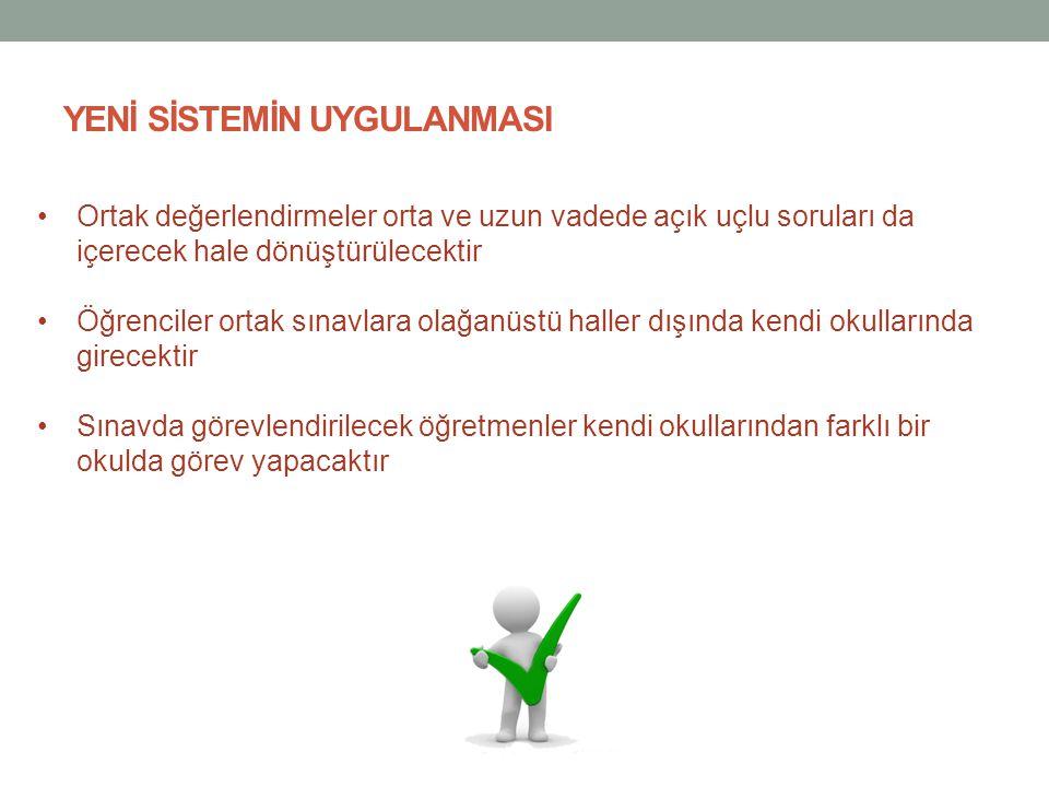 •Geçerli bir mazereti sebebiyle ortak sınava giremeyen öğrenciler için önceden belirlenen bir hafta sonunda mazeret sınavı yapılacak •Mazeret sınavı, belirlenen sınav merkezlerinde yapılacak •Sınavların değerlendirme ve sıralamaları, Türkiye geneli için değil; her il bazında ayrı ayrı yapılacak •Galatasaray, Kabataş, İstanbul Erkek gibi kapısında yığılma olacak okullar için ise öğrenci kabulünde kendi düzenleyecekleri ek sınavlar belirleyici olacak.