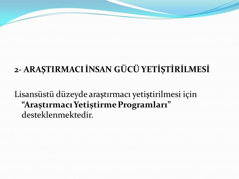 Program ilanı, Kalkınma Bakanlığı (DPT) tarafından her yıl yılda bir kez yapılmaktadır.