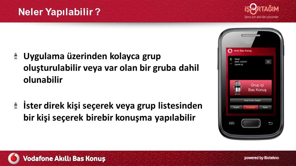 Yeni Nesil Bas Konuş Servisi Fiyat Karşılaştırması Vodafone Turkcell Avea Mobil Uygulama olarak Bas Konuş Uygulaması 13TL/aylık NA Bas Konuş Servisi Kontratsız Bas Konuş Servisi 12 ay Kontratlı Bas Konuş Cihaz Kampanyası /12 ay 11TL/ aylık NA 25TL/ aylık Samsung Pocket Plus 25TL/ aylık Samsung Pocket Plus 28TL / aylık Turkcell T11 28TL / aylık Turkcell T11 NA 45,4 TL / aylık Turkcell T11 45,4 TL / aylık Turkcell T11 NA Bas Konuş Cihaz Kampanyası /24 ay