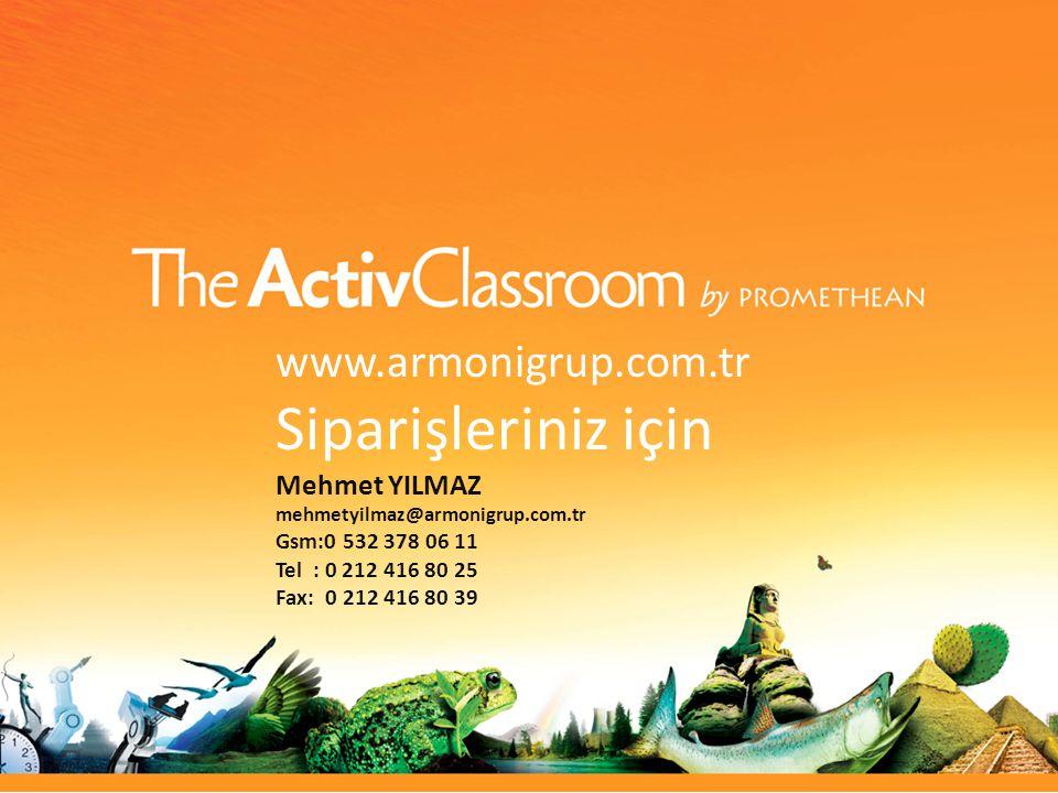 www.armonigrup.com.tr Siparişleriniz için Mehmet YILMAZ mehmetyilmaz@armonigrup.com.tr Gsm:0 532 378 06 11 Tel : 0 212 416 80 25 Fax: 0 212 416 80 39