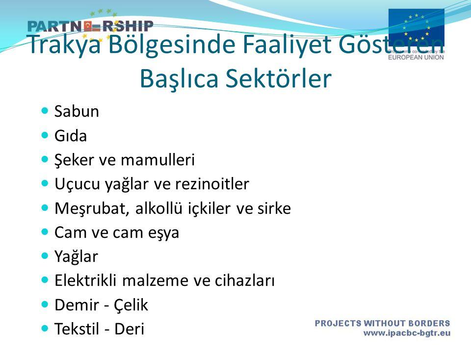 Sanayi Tesislerinin Ergene Havzasında Konuşlanma Nedenleri  İstanbul a yakınlık.