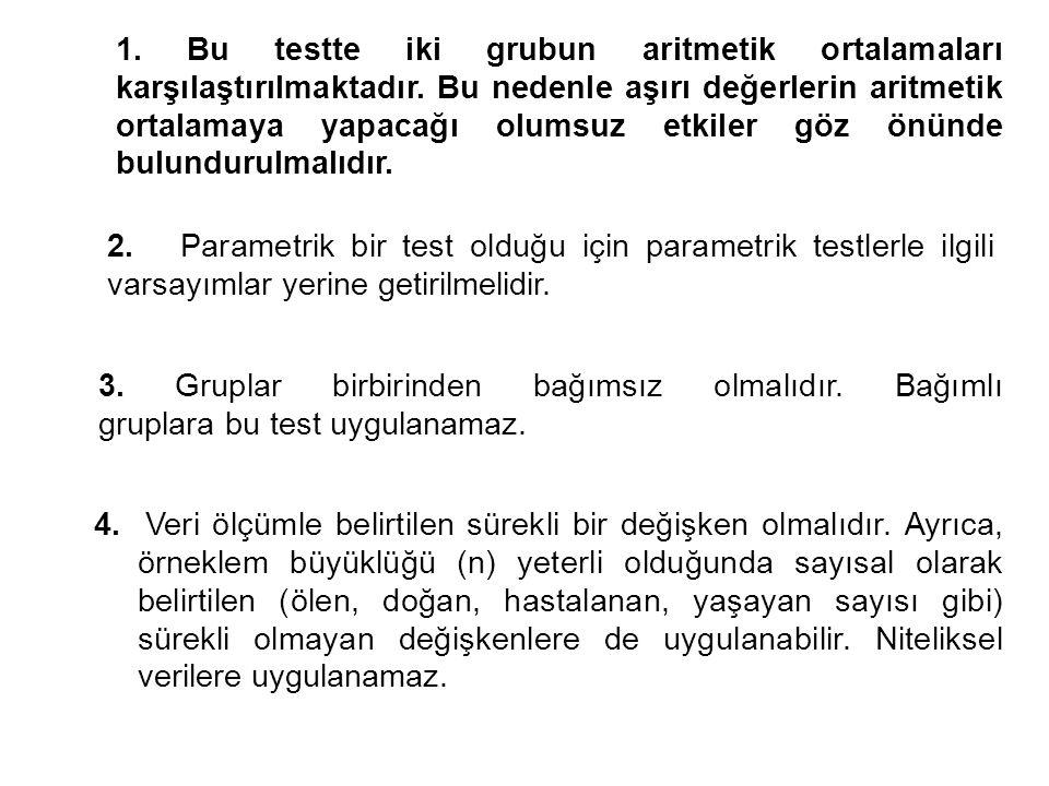 2x2 ki-kare testi İki yüzde arasındaki farkın anlamlılık testinin uygulandığı durumlarda istenirse 2x2 ki-kare testinden de yararlanılabilir.