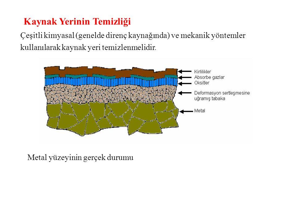 Ark kaynağında doğru veya alternatif akımlı güç kaynakları kullanılır.