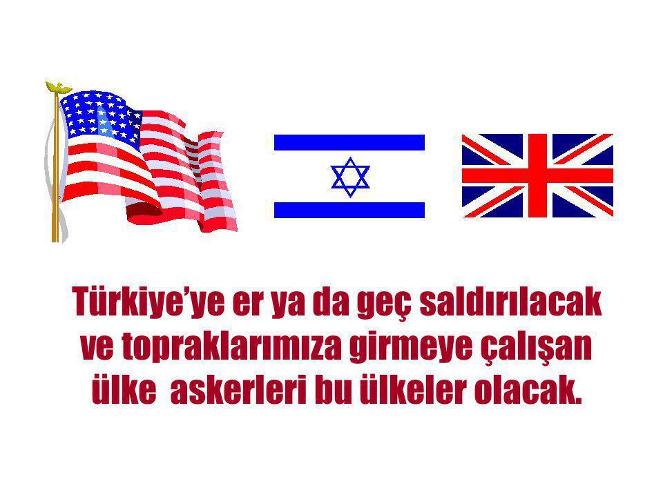 SONUÇ! İran'dan sonraki hedef Türkiye!