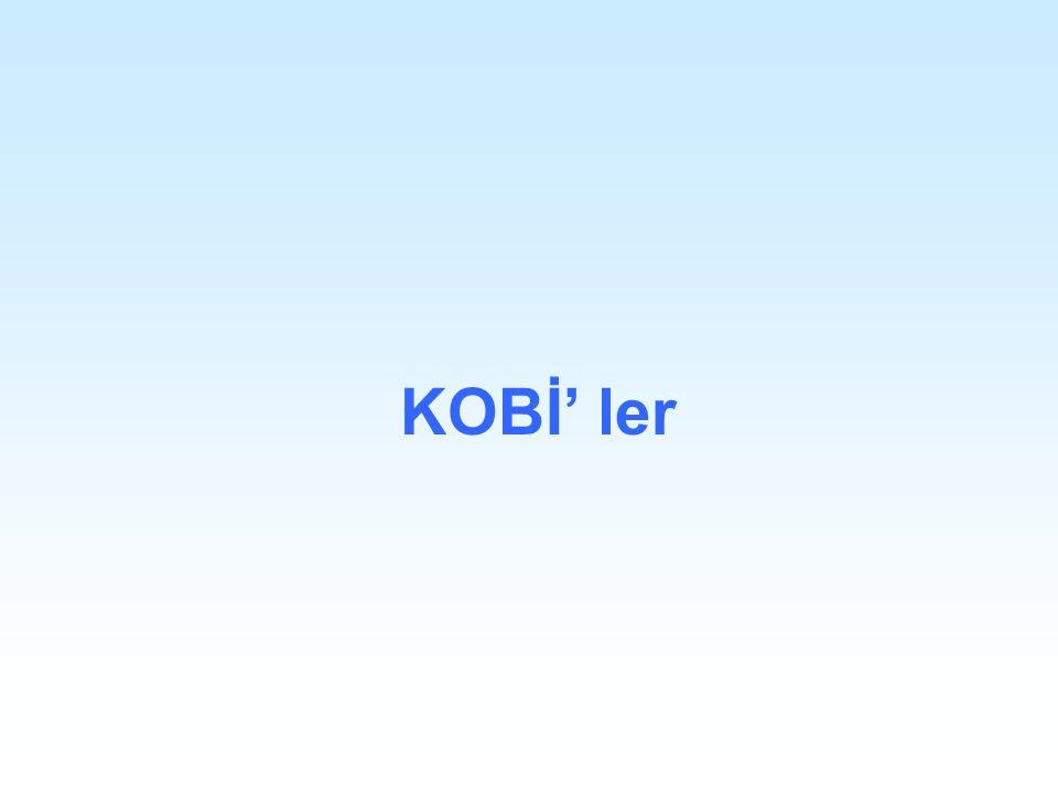 KOBİ' ler