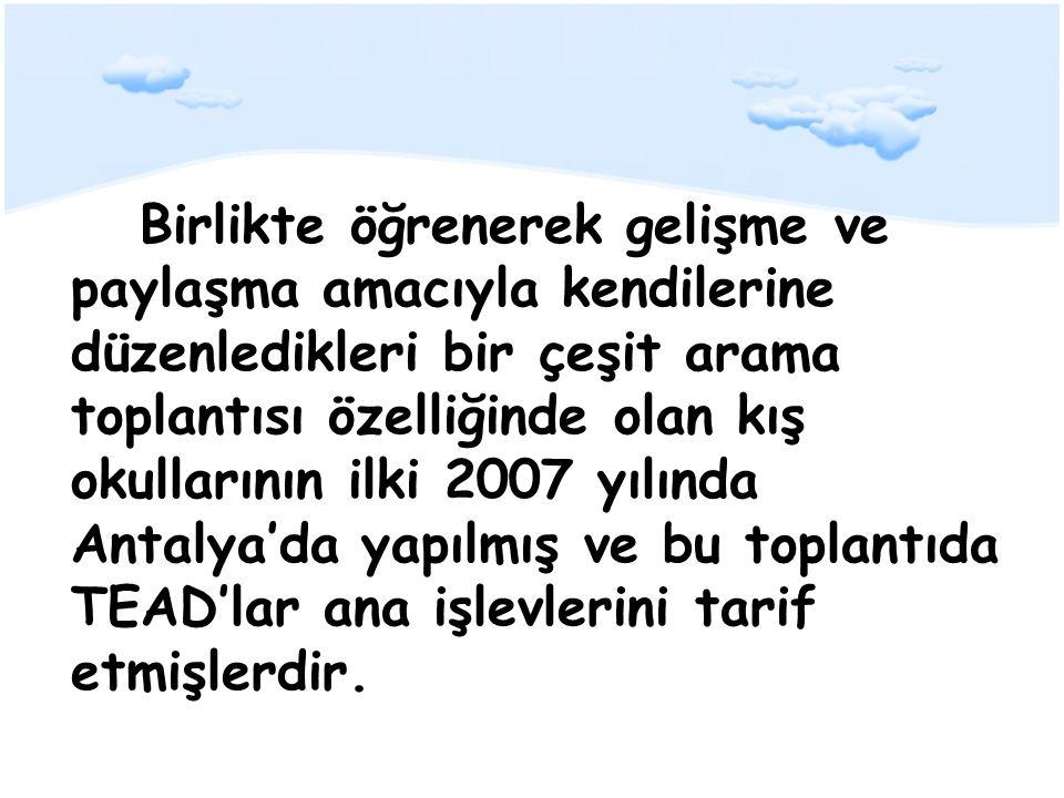 2008 yılında İzmir'de, Ulusal Yetkinlikler Çerçevesini (UYÇ) belirlemek üzere bir araya gelinen II.