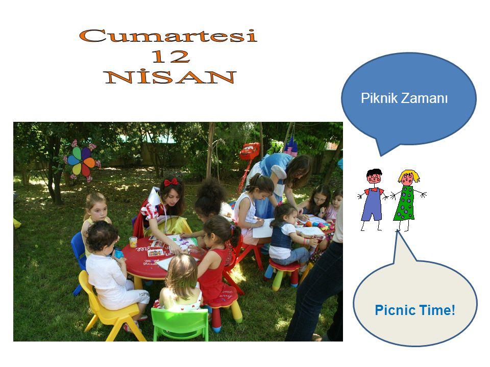 Piknik Zamanı Picnic Time!