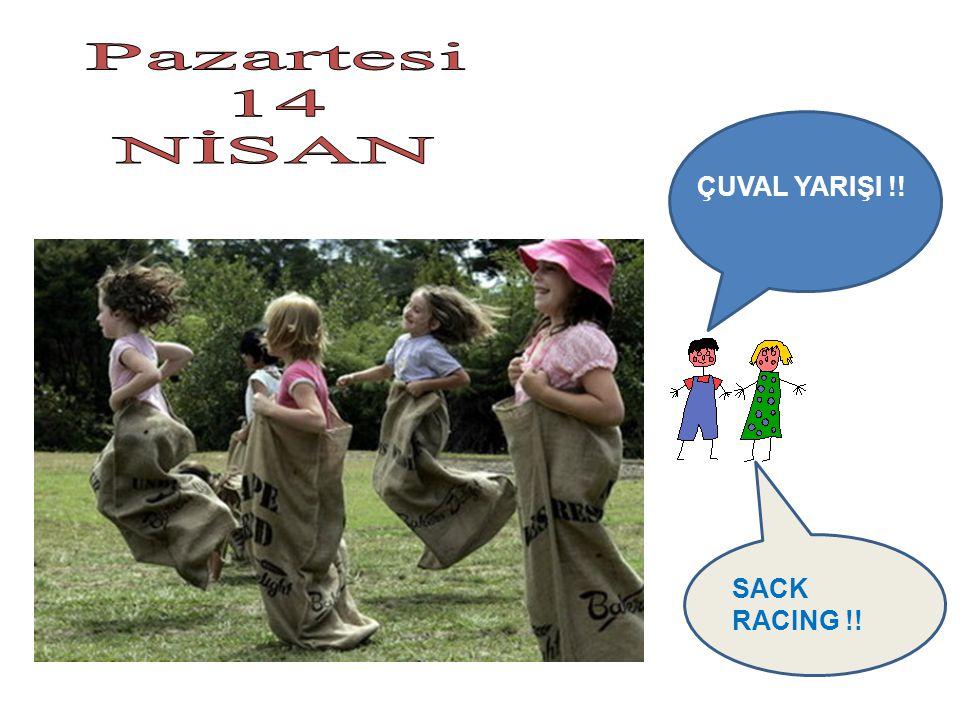 SACK RACING !! ÇUVAL YARIŞI !!