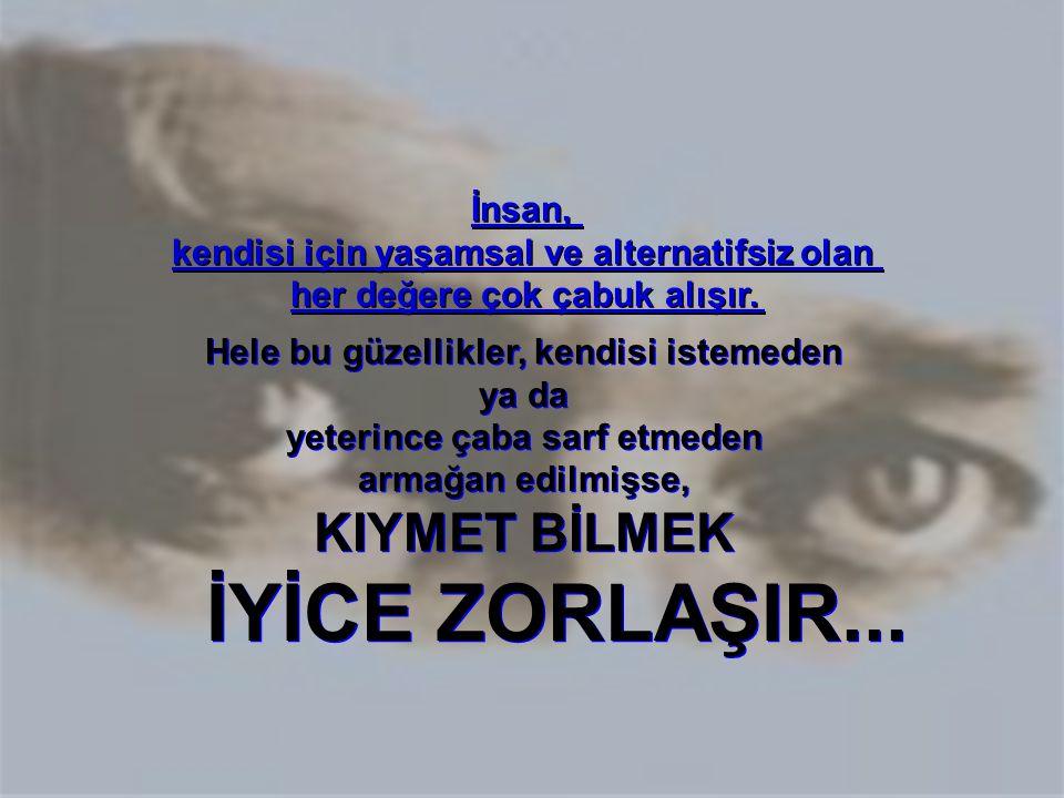 Gazi Mustafa Kemal ATATÜRK'ün emaneti olan cumhuriyete, BÜYÜK ÖNDERİN KURDUĞU NİTELİKLERİYLE SAHİP ÇIKMA KONUSUNDA, KİTLELERİ UYANDIRMA ZAMANI GELMİŞTİR !...