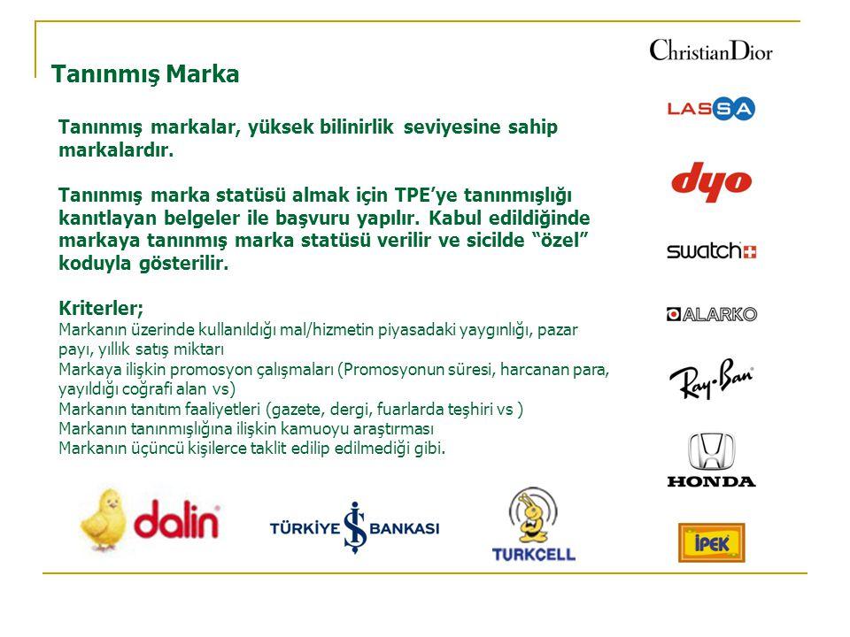 Tanınmış Marka Tanınmış markalar, yüksek bilinirlik seviyesine sahip markalardır.