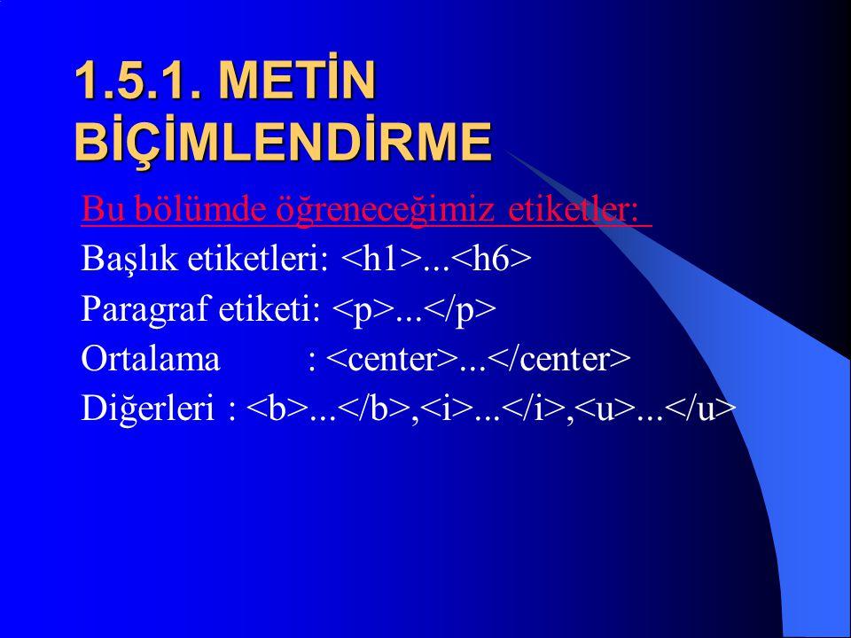  Böylece ilk HTML sayfamızı yapmış olduk. Şimdi de bu belgeyi nasıl oluşturduğumuzu birlikte inceleyelim. Kelimeleri küçük