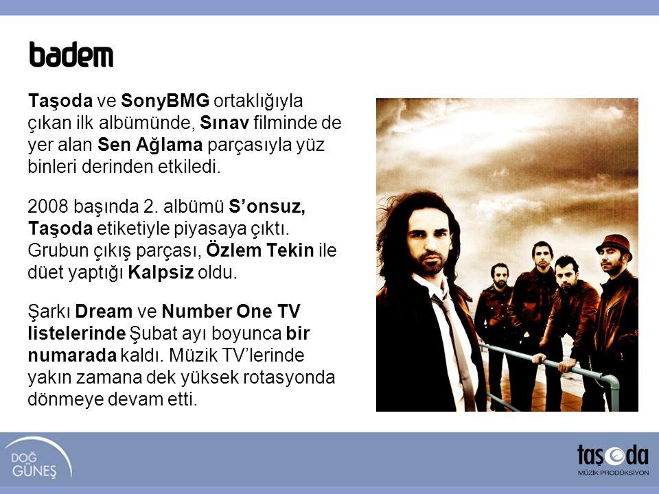 Taşoda ve SonyBMG ortaklığıyla çıkan ilk albümünde, Sınav filminde de yer alan Sen Ağlama parçasıyla yüz binleri derinden etkiledi. 2008 başında 2. al