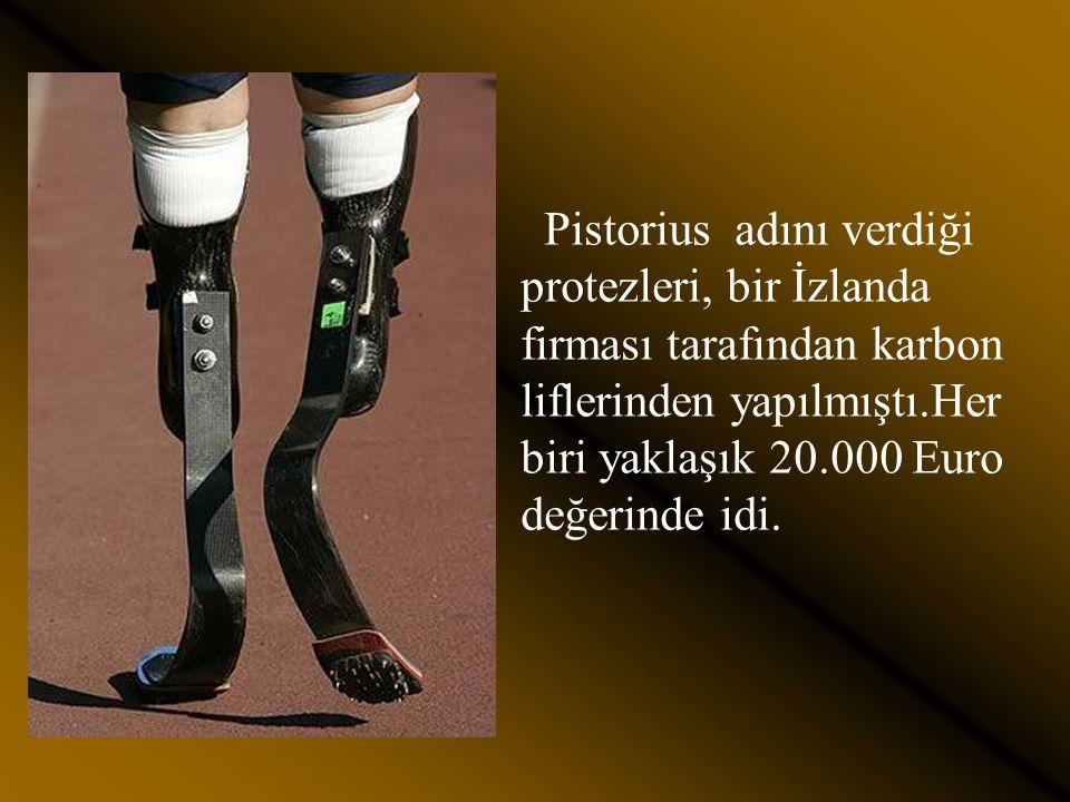 Dünya 100, 200, 400 ve 800 m. Engelliler koşularında,dünya rekorları kırması onu tatmin etmedi.Uluslar arası Atletizm federasyonu (IAAF) a başvurarak,
