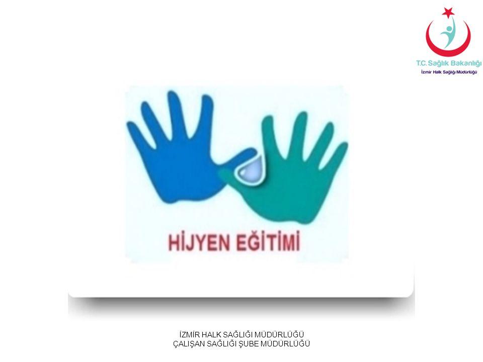 TEMİZLİKTE ELDİVEN KULLANIMI  Temizlik sırasında eldiven kullanmaktaki amaç el cildinin korunmasıdır.