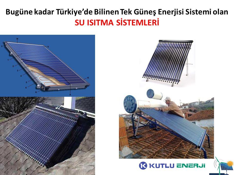 Bugüne kadar Türkiye'de Bilinen Tek Güneş Enerjisi Sistemi olan SU ISITMA SİSTEMLERİ 7