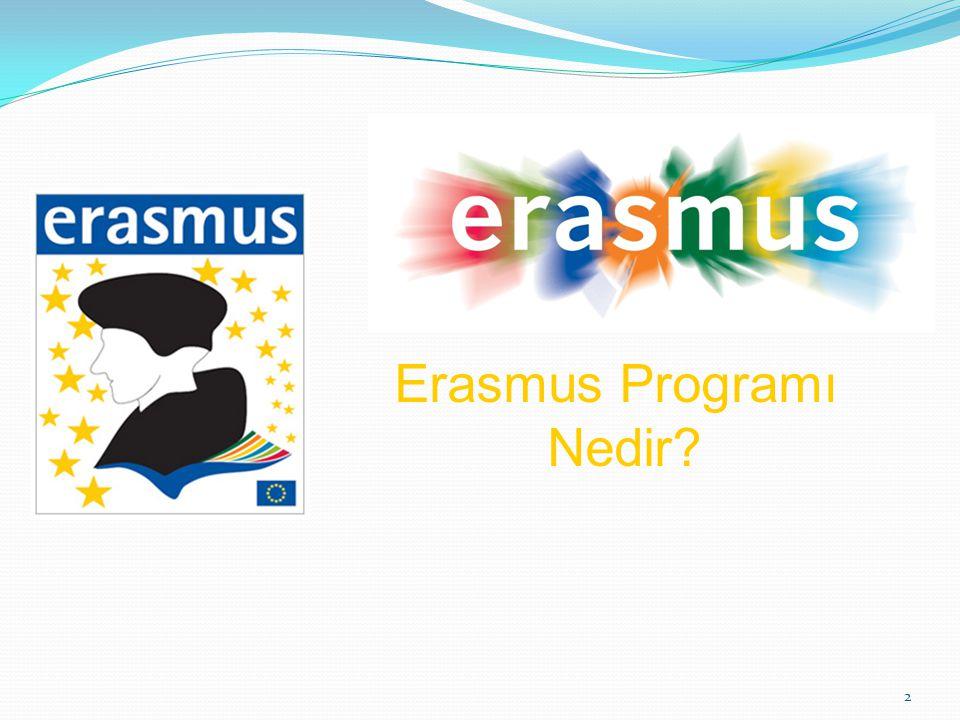 2 Erasmus Programı Nedir?