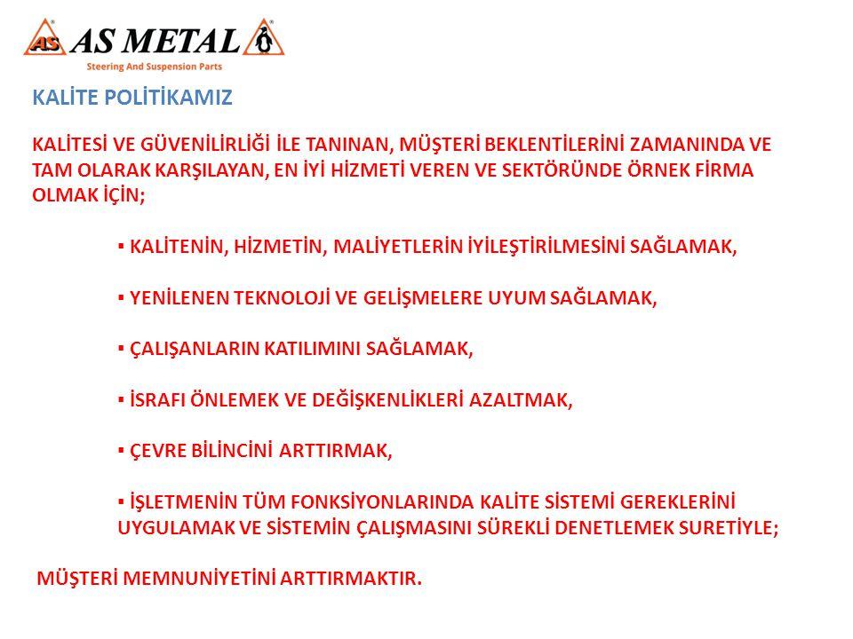 TEŞEKKÜRLER.. www.asmetal.com E-mail : sales@asmetal.com