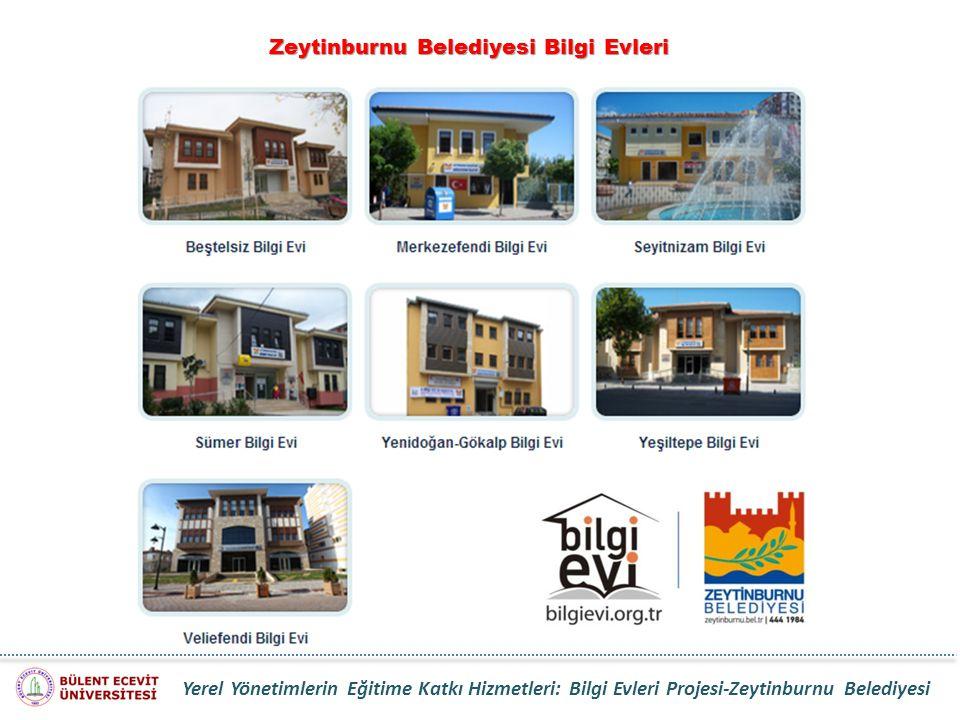 Zeytinburnu Belediyesi Bilgi Evleri Yerel Yönetimlerin Eğitime Katkı Hizmetleri: Bilgi Evleri Projesi-Zeytinburnu Belediyesi