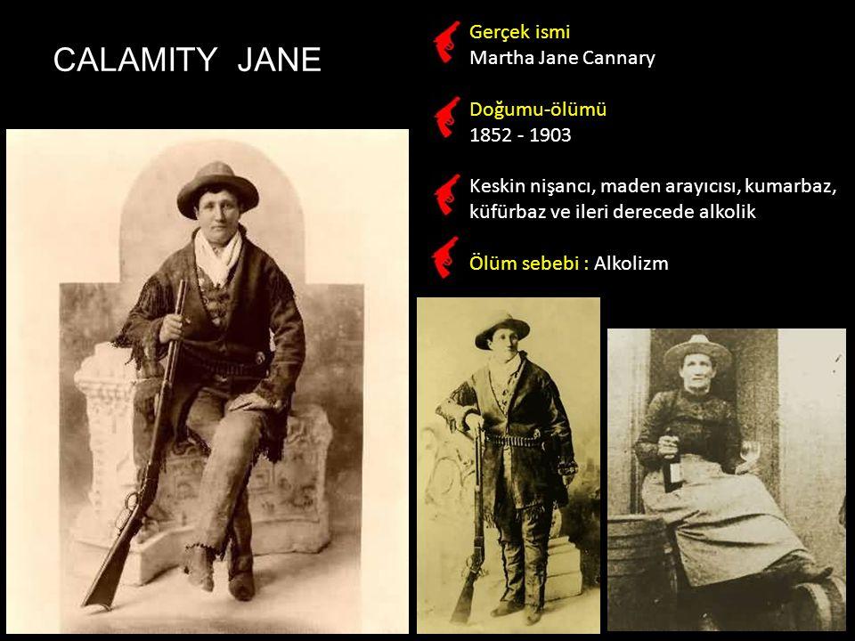 Butch Cassidy Robert LeRoy Parker 1866-1908 Soyguncu, Wild Bunch çetesinin lideri BUTCH CASSIDY & SUNDANCE KID Wild Bunch çetesi: Sundance Kid, Will Carver, Ben Kilpatrick, Kid Curry, Butch Cassidy Sundance Kid Harry Alonzo Longabaugh 1867-1908 Soyguncu, Cassidy'nin ortağı Her ikisi de Bolivya'daki bir banka soygununun ardından sığındıkları ufak bir kasabada yerel polis tarafından kuşatılıp öldürüldüler.