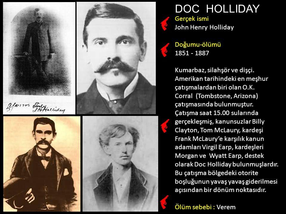 Bob Dalton Robert Rennick Dalton 1869 -1892 Banka soygunu yaparken vuruldu.
