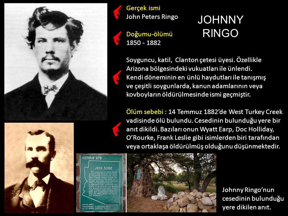 Gerçek ismi Aynı.Doğumu-ölümü 1853 - 1895 Silahşör, katil.