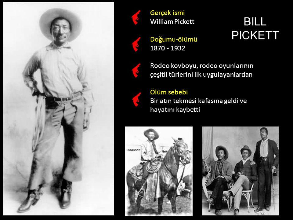 Gerçek ismi Wyatt Berry Stapp Earp Doğumu-ölümü 1848 - 1929 Çiftçilik, avcılık, madencilik, bar koruyuculuğu gibi çeşitli işler yapan Wyatt Earp, Arizone Tombstone'da ve Kansas Dodge City'de kanun koruyucu olduğu yıllarda büyük bir ün kazandı.