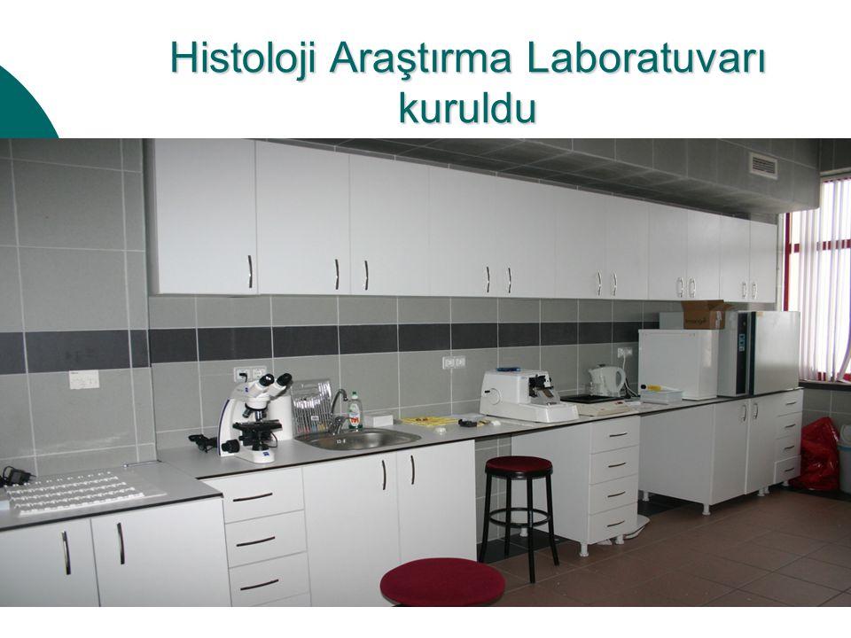 Histoloji Araştırma Laboratuvarı kuruldu