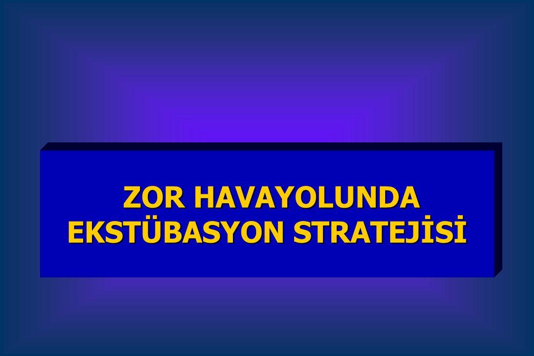 ZOR HAVAYOLUNDA EKSTÜBASYON STRATEJİSİ