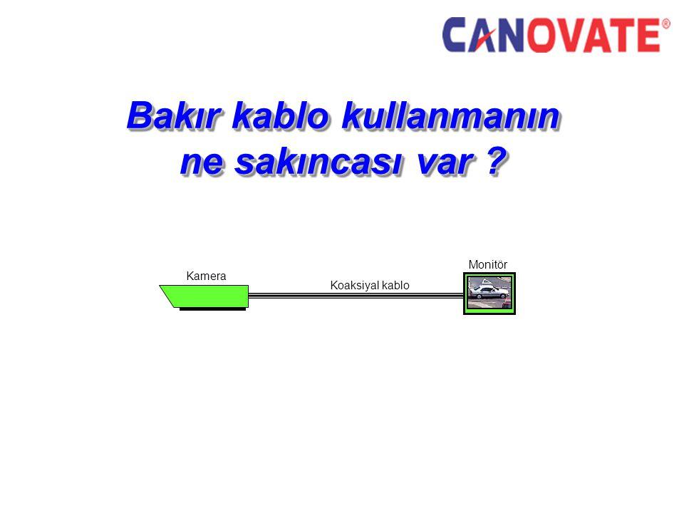 Bakır kablo kullanmanın ne sakıncası var ? Monitör Kamera Koaksiyal kablo