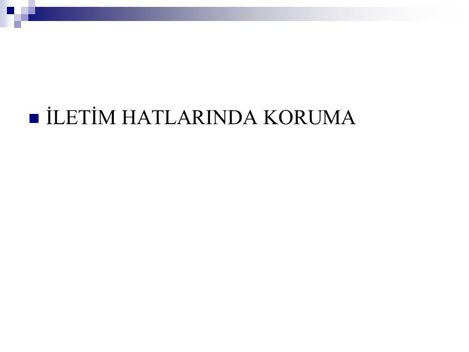 … MK Rölesi 1.Kademe  Mesafe koruma rölesi, 1.
