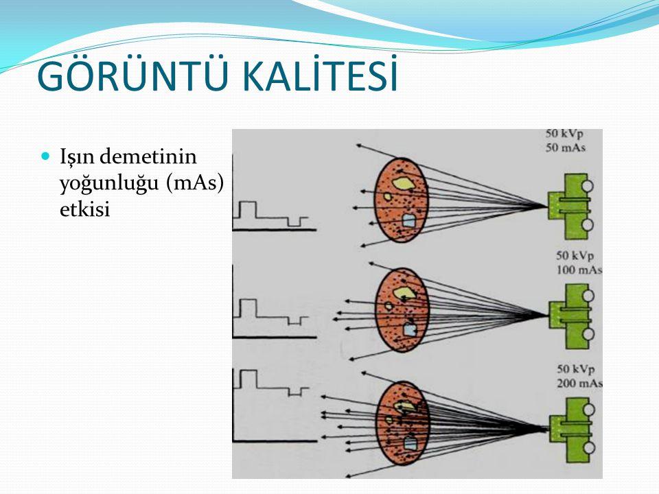 RADYOGRAFİDE KALİTE KONTROL TESTLERİ  RADYOGRAFİK X-IŞINI SİSTEMLERİ TESTLERİ:  Işınlamanın Tekrarlanabilme ve Doğrusallığı Testi  Tüp Çıkışı ve Kararlılığı Testi  Filtrasyon ve Yarı Değer Kalınlığı Testi  Işınlama Zamanının Ölçülmesi  kVp Testi  X-Işını Alanı Uygunluk ve Diklik testi  Odak Nokta Boyu ve Ayırma Gücü Ölçümleri  Sızıntı Radyasyon Ölçümü Testi  Otomatik Işınlama Kontrolü  Grid Ayar Ölçümü