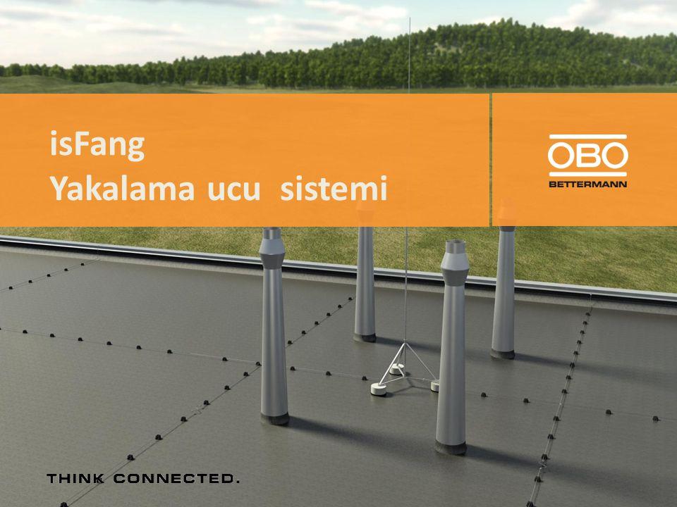 isCon çatıda hat tutucularla yürütülebilir! 1. 2.3. 4.5. max 1 m