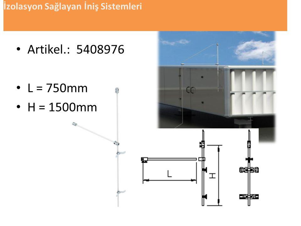 • s güvenlik mesafesini 62305 -3 e göre hesaplıyoruz. Koruma sınıfı k i (IEC-62305- 3) I0,08 II0,06 III ve IV0,04 malzemekmkm hava1 Beton,tuğlalar0,5