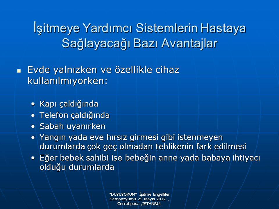 DUYUYORUM İşitme Engelliler Sempozyumu 25 Mayıs 2012, Cerrahpasa,ISTANBUL TOPLANTIDA