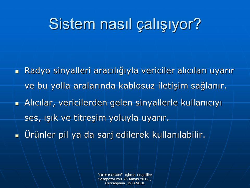 DUYUYORUM İşitme Engelliler Sempozyumu 25 Mayıs 2012, Cerrahpasa,ISTANBUL