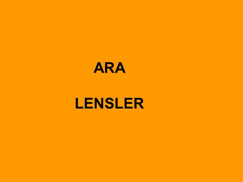 ARA LENSLER
