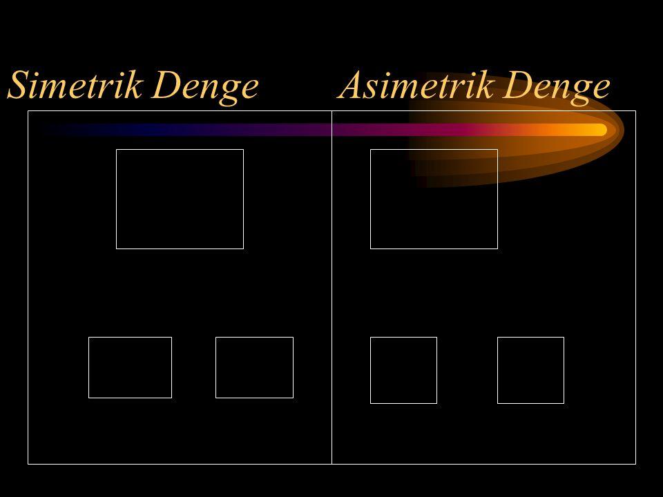 Simetrik DengeAsimetrik Denge