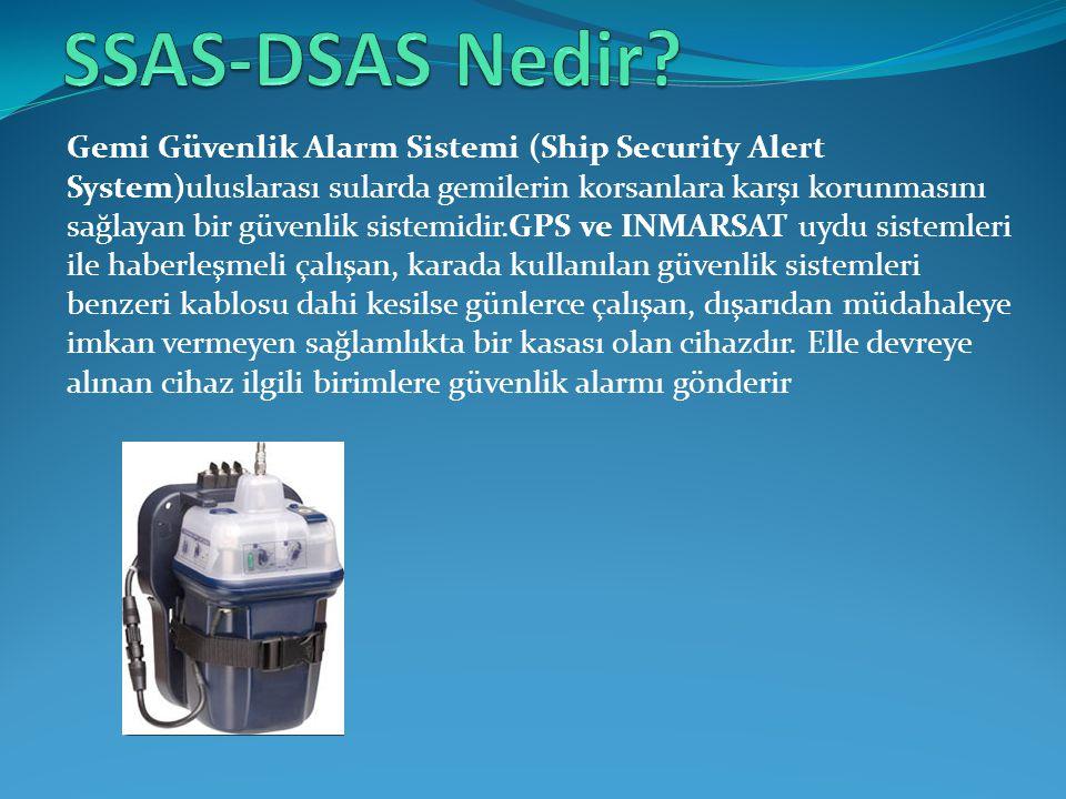 Gemi Güvenlik Alarm Sistemi (Ship Security Alert System)uluslarası sularda gemilerin korsanlara karşı korunmasını sağlayan bir güvenlik sistemidir.GPS